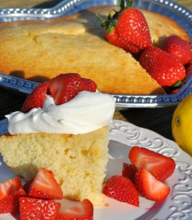 Lemon Strawberry Shortcake & Make Bake Create