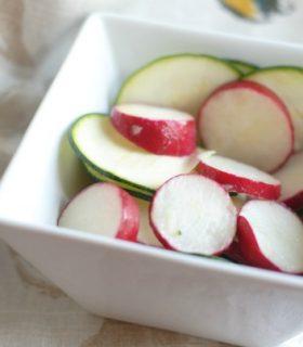 {Garden Fresh Fridays} Cucumber & Radish Salad