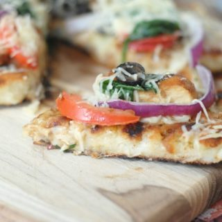 Grilled Rustic Chicken Pizza