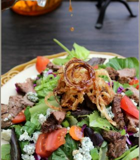 Steak & Blue Cheese Salad plus Make Bake Create