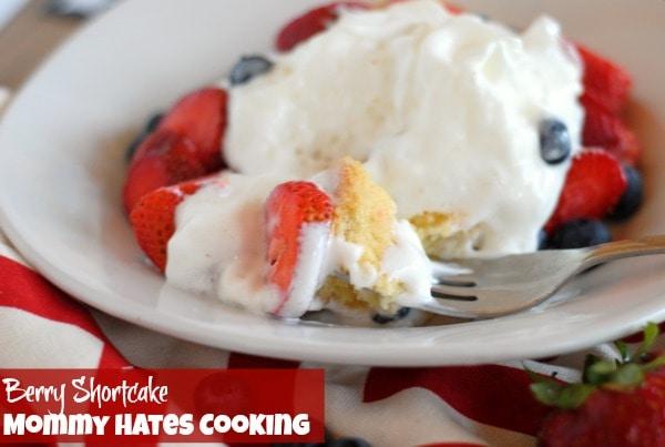 Recipe - Berry Shortcake I Mommy Hates Cooking