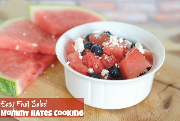 Easy Fruit Salad I Mommy Hates Cooking