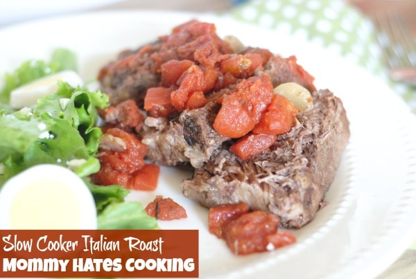 Recipe - Slow Cooker Italian Roast {Perfect for Summer!} I #DinnerDone #Shop