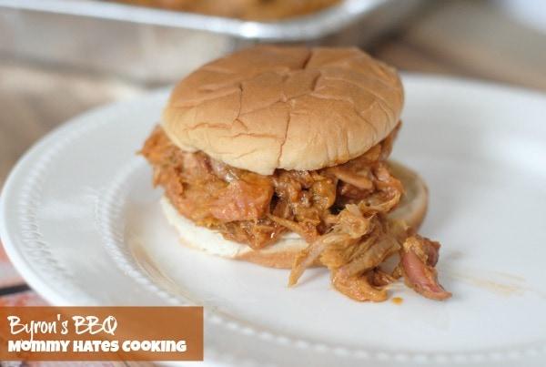 Byron's BBQ Sandwiches #ByronsBBQ #ad