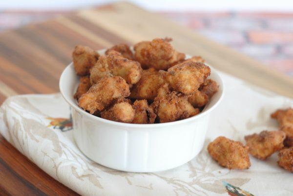 Copycat Gluten Free Chick-Fil-A Nuggets #GlutenFree