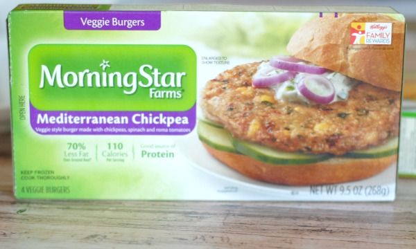 Mediterranean Veggie Burgers I Mommy Hates Cooking #MorningStarFarms #CGC