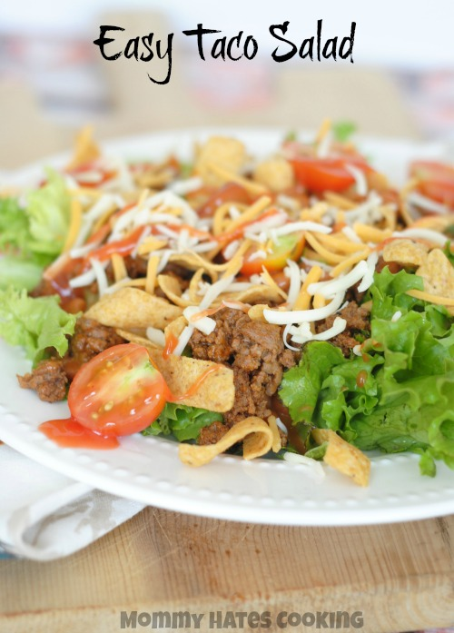 Easy Taco Salad I Mommy Hates Cooking
