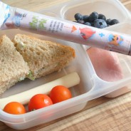 Cucumber Sandwiches Lunchbox Idea #GoGurt #Sponsored