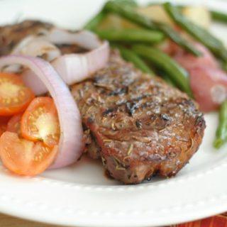 Mediterranean Grilled Steaks