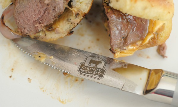 Grilled Sirloin Sandwiches #CertifiedAngusBeef #Sponsored