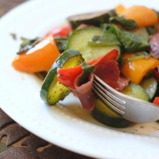 Bacon & Veggie Salad