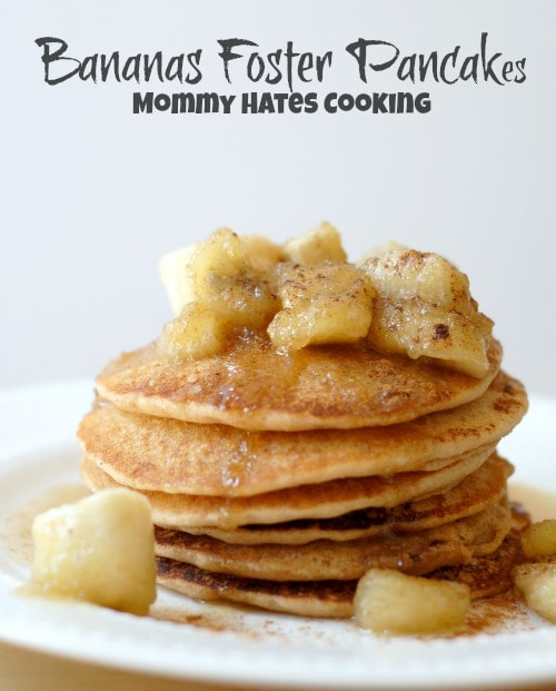 Bananas Foster Pancakes Recipe — Dishmaps