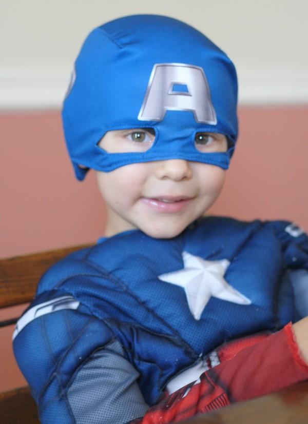 Captain America Monster Cookies #HeroesEatMMs #Shop