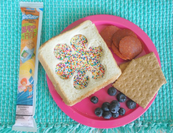 Fairy Bread Lunchbox #GoGurt #LunchboxBlogger #Sponsored