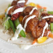 #ad General Tso Tostadas I Mommy Hates Cooking #GameTimeHero #CollectiveBias