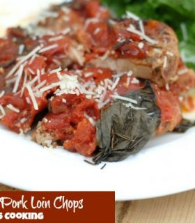 Slow Cooker Italian Pork Loin Chops