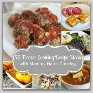 50 Freezer Cooking Recipe Ideas with Mommy Hates Cooking