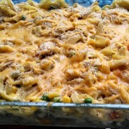 Lighter Chicken Noodle Casserole & Make Bake Create