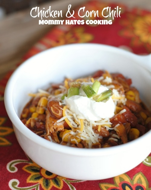 Chicken & Corn Chili I #McCormickGF #Sponsored