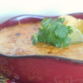 Spicy Broiled Bean Dip #VivaLaMorena #shop
