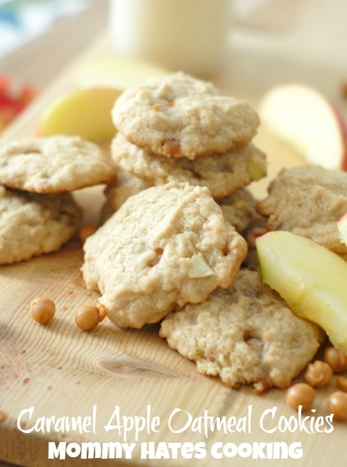 Caramel Apple Cookies I Mommy Hates Cooking