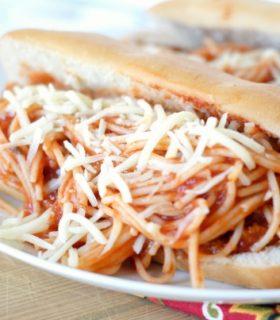 Spaghetti & Steak Sub Sandwich with Ragú®