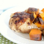 Slow Cooker Cinnamon Chicken with Sweet Potatoes