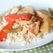 Slow Cooker Sweet N' Sour Chicken I Mommy Hates Cooking
