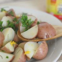 Buttery Fresh Herb Potatoes