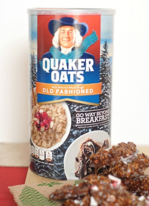 Celebrating the Holidays with Quaker #QuakerUp #MyOatsCreation #Spon