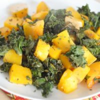 Roasted Kale & Butternut Squash