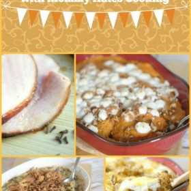 40 Thanksgiving Recipes with Mommy Hates Cooking