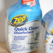 Cleaning with Zep Commercial #TryZep #Sponsored