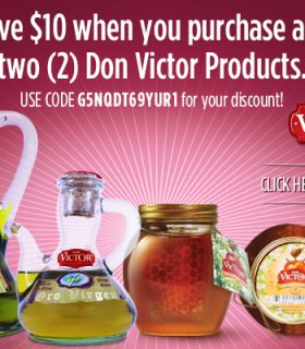 Don Victor Honey Sweepstakes