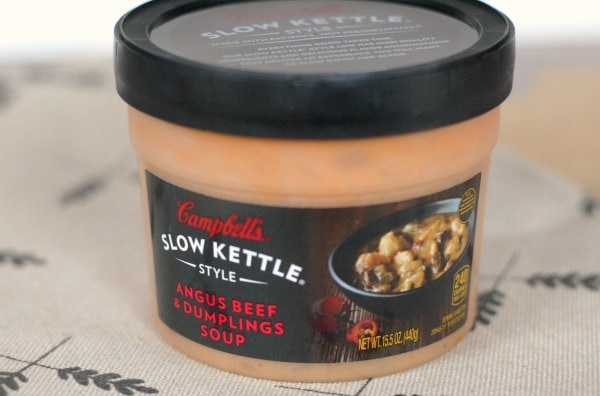Campbell's Slow Kettle Soups #LoveLunchIn #ad