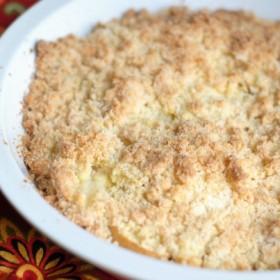 Apple Crumb Cobbler & Marie Callender's Pot Pies #EasyasPotPie #ad
