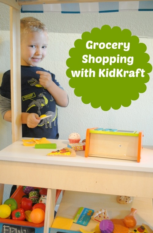 Grocery Shopping with KidKraft
