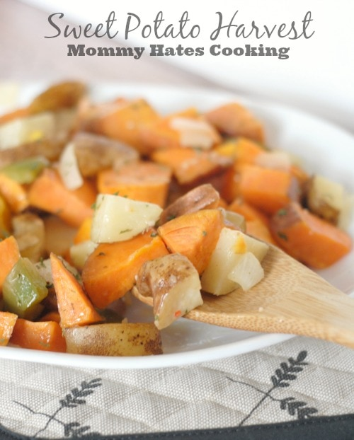 Sweet Potato Harvest #SimplyHealthy #ad
