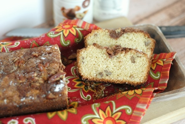 Pecan Hazelnut Bread #BackToBalance #ad