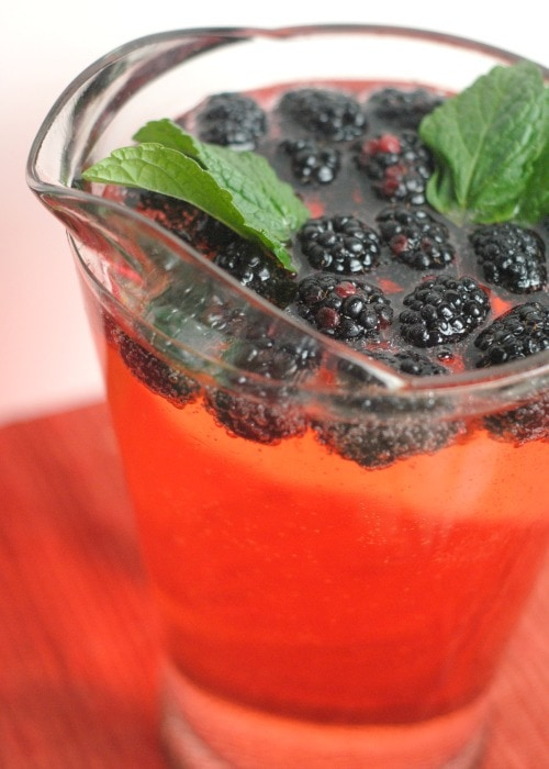 Mixed Berry Mocktail #MingleNMix #ad