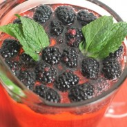 Mixed Berry Mocktail #MingleNMix #ad