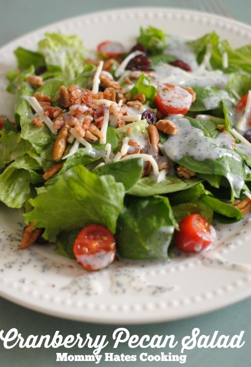 Cranberry Pecan Salad I Mommy Hates Cooking