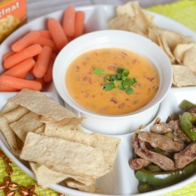2 Ingredient Queso #QuesoForAll #Sponsored