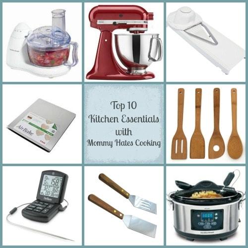 Gift Ideas Top 10 Kitchen Essentials Mommy Hates Cooking