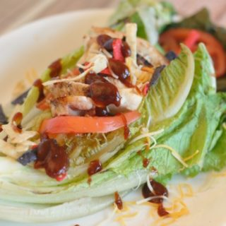 Grilled Barbecue Chicken Salad