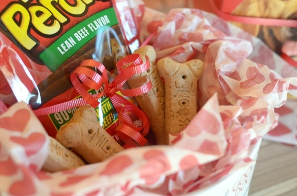 Valentine's Day Treats for the Pups #TreatthePups #ad