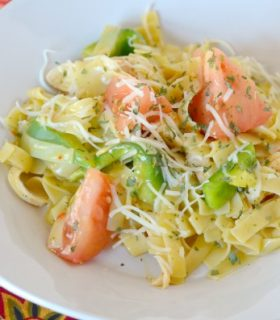 Chicken & Veggie Pasta with Knorr plus a $50 Kroger Giveaway