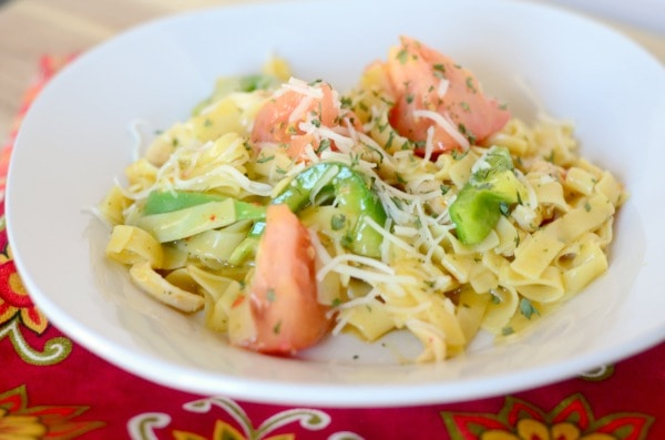 Chicken & Veggie Pasta #Sponsored