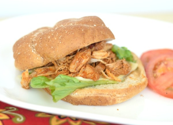 Slow Cooker Chicken Sloppy Joes - Mommy Hates Cooking