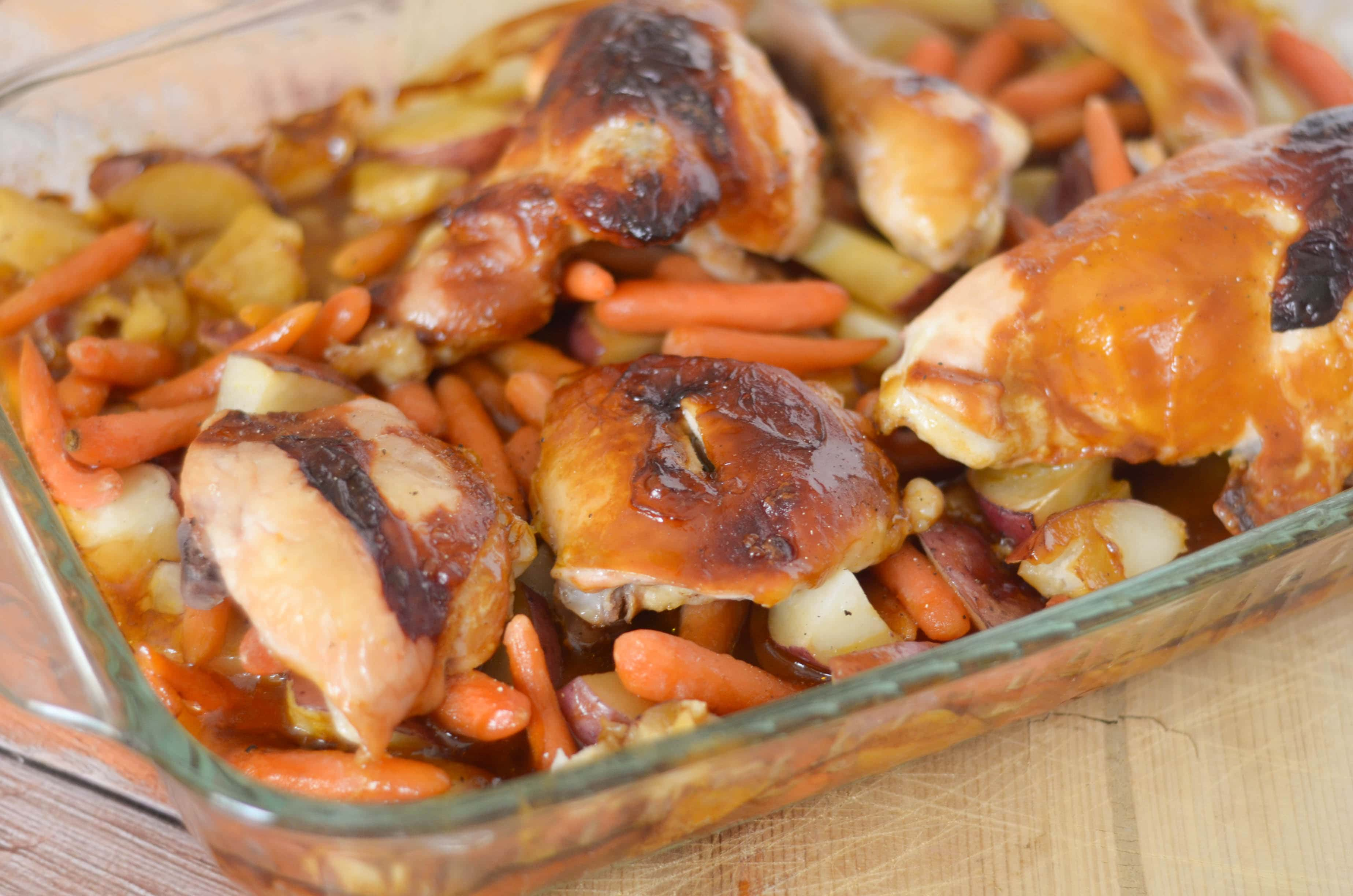 Classic Roasted Chicken with Campbell's® Oven Sauces #SocialStars # ...